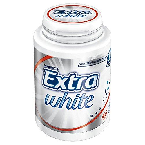 Extra blanc sans sucre gomme Wrigley (46 par paquet) - Paquet de 2