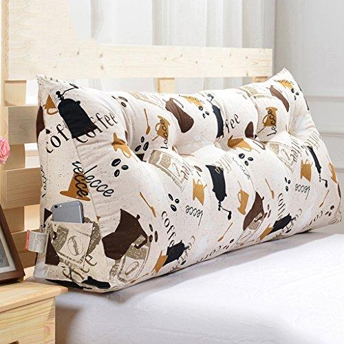 MMM- Housse de coussin de lit de coussin de lit triangulaire Soft Case Lavable ( Couleur : #1 , taille : 150cm )
