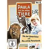 Paula und die wilden Tiere Vol. 8  -  Wie die Löwen leben/Abu und die Pavianbande