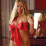 Naughty Knot - Fiocco birichino, originale idea regalo per la festa degli innamorati, rosso