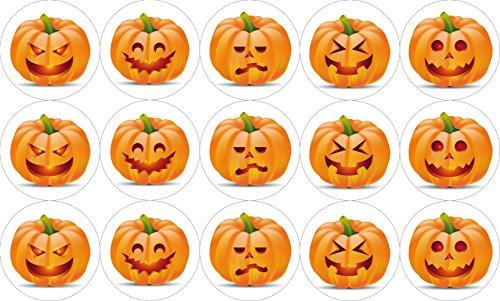Muffinaufleger Halloween4 Mix 6 cm Ø / 15 Stück