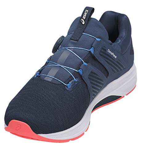 Asics Dynamis Dark Blue White Flash Coral dark blue-white-flash coral