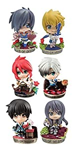 Megahouse- Display 6 Mini Figuras 5,5 Cm Tales of Series Petit Chara Land, (MGHTS819544)