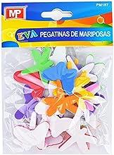 MP PM187 - Pegatinas adhesivas de goma Eva con formas