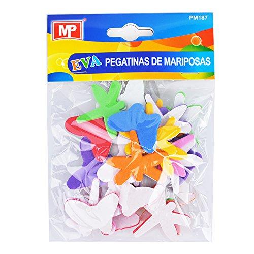 Pegatinas adhesivas de goma Eva con formas