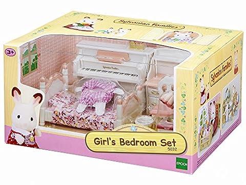 Sylvanian Families Girl's Bedroom Set
