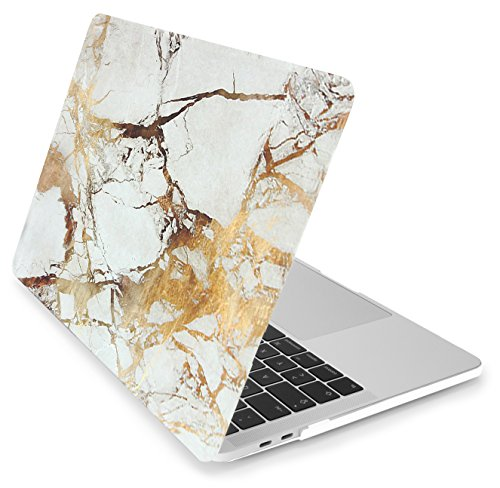 MyGadget Hülle Hard Case [Marmor] - für Apple MacBook Pro 13