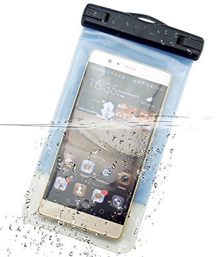 DolDer Universal Wasserdichte Handyhülle Tasche Hülle mit Armband für iPhone 7 plus/6s plus,Samsung Galaxy S8/S8 PLUS/S7 EDGE/A5/A7/J5/J7,HUAWEI P10/P10 Plus/P9/P9 plus/P9 lite/MATE 9/8, Honor 8/Honor 8 PRO/Honor 5X, LG G5/G6,HTC U PLAY/ULTRA,MOTO G4/G5 MOTO Z,Lumia 950/950XL,sony Xperia XA1 ULTRA/Xperia XZs/ Xperia XZp,OnePlus 3 in Blau