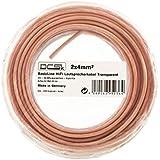 DCSk Câble d'enceinte - haut-parleurs - HiFi en cuivre - cuivre OFC - 2 x 4 mm² - 10m