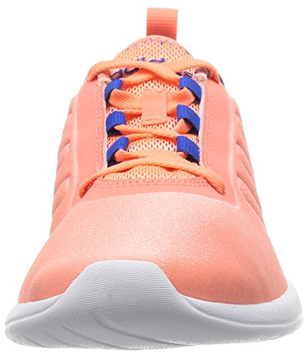 adidas Damen Cloudfoam Pure W Turnschuhe Rot / Blau (Brisol / Brisol / Blau)
