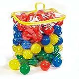 Multicolored 100 Fun Balls Big Size - 7cm Diameter