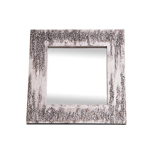 Lohoart L-1261-3 - Espejo Sobre Lienzo Pintado Artesanal