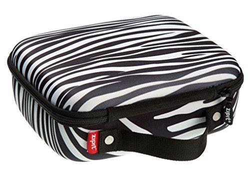 Zipit Colorz Box Brillenetui, Blau Lunchbox zebra