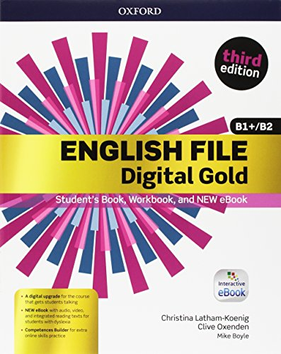 English file gold.B1/B2.Premium.Student's book wb with key with ebk