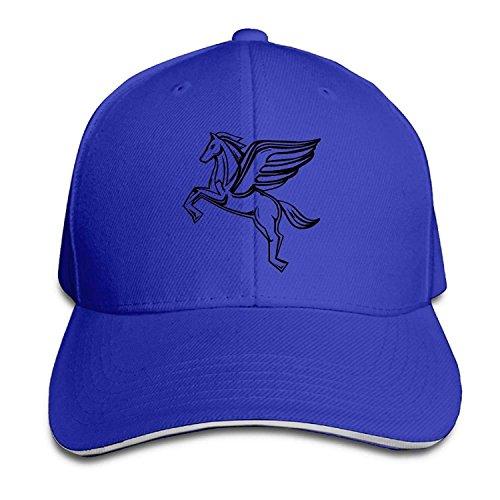 Yeslif Pegasus Classic 100% Cotton Hat Caps Unisex Fashion Baseball Cap Adjustable