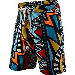 Nike, Gradient Beach, pantalones cortos para hombre, Multi - Orange/Yellow