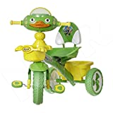 #2: NHR Attractive Tricycle with LED Lights, Horn, Jumbo Wheels and Front n Rear Baskets (Green)