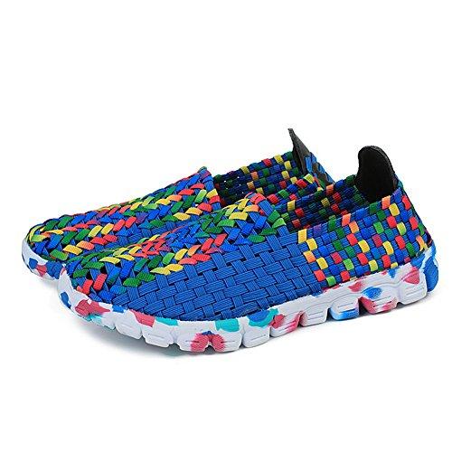 XiaoYouYu Fitness Shoes, Basses femme Bleu