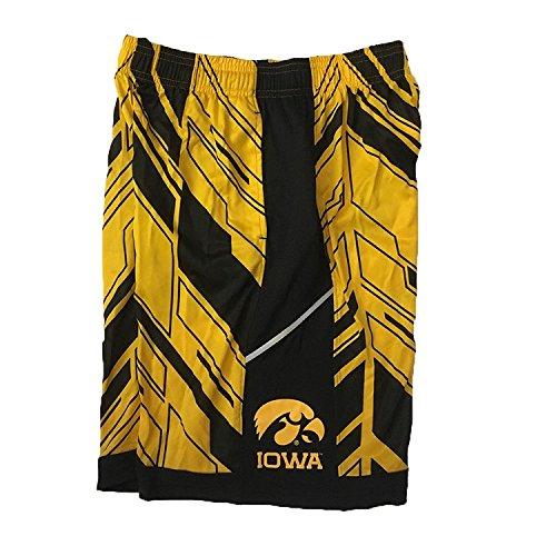 Under Armour Iowa Hawkeyes Jugend der Jüngste Tag Athletic Shorts, Jungen, gelb/schwarz -