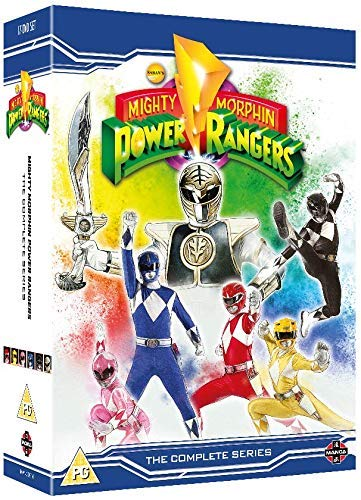 Mighty Morphin Power Rangers Complete Season 1-3 Collection [DVD] (Power Rangers Dvd-set)