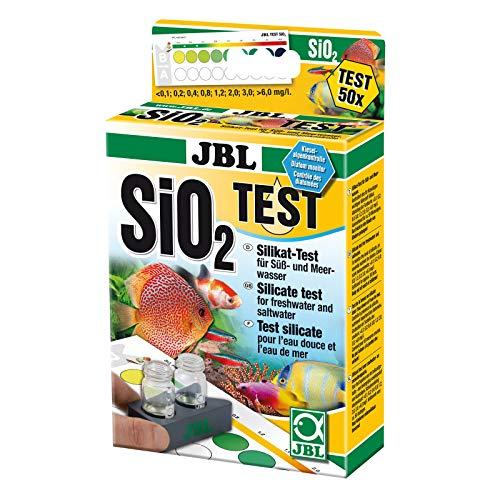 Test für Süß - Salzwasser SiO₂ Silikat Test Silikat (Kieselsäure)
