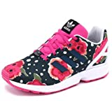 Schuhe ZX Flux Rose/Blanc Jr