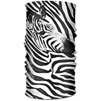 Zebra Skin Horse Striped Pattern Headwrap Unisex Headwear Headband Neck Scarf Quick Dry Do Rag Cap Magic Head Scarf Bandana Cute Headdress Face Mask Neck Gaiter