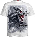 Spiral - Men - DRAGON'S CRY - T-Shirt White