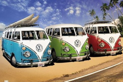 "Empire 375971 Poster ""VW Californian Camper"" 91,5x61 cm"
