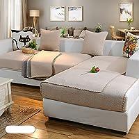 dw hx baumwolle und leinen tragerlos sofabezug mobel protector 1 stuck 3 sitze haustiere und kinder