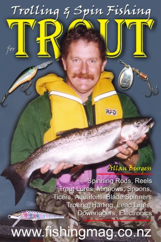 Trolling & Spin Fishing for Trout by Allan Burgess (English Edition) (Trolling Lures Rapala)