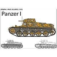 Dauer Wand Kalender Militär  Panzer Tiger Metall Magnet