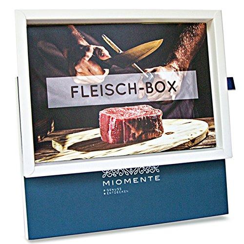 Miomente FLEISCH-Box: Fleisch-Kochkurs Gutschein - Geschenk-Idee Erlebnisgutschein