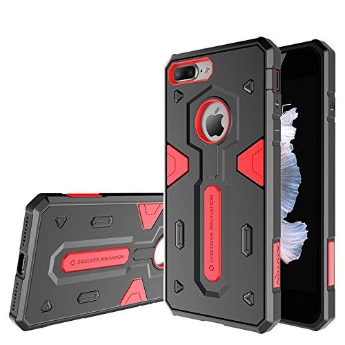 Nillkin Defender Case II für Apple iPhone 7Plus–black-parent rot