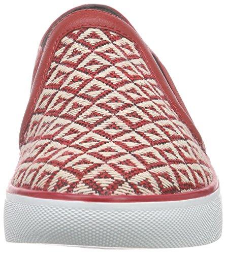 ESPRIT - Lizette Slip On, Scarpe da ginnastica Donna Rosso (Rot (630 red))