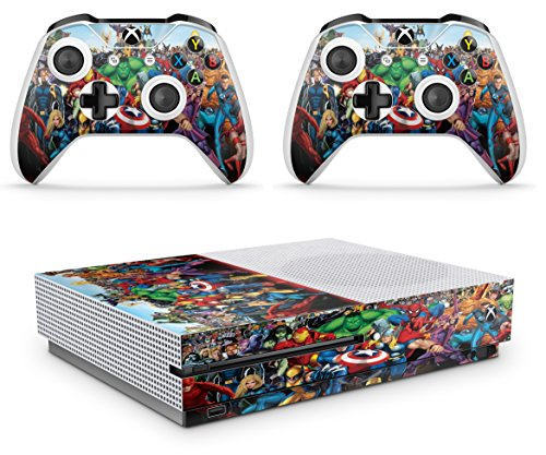 Video Game Accessories Faceplates, Decals & Stickers Energetic Skulls Xbox One S 1 Sticker Console Decal Xbox One Controller Vinyl Skin Extremely Efficient In Preserving Heat