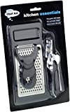 Chef Aid Kitchen Utensil Set (Pack of 3) - Black