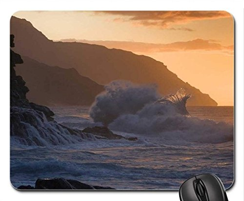 Strand Thema Gaming Mouse Pad, Hawaii Sunset - Mousepad, Mousepads.
