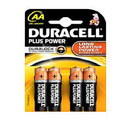 Batterie DURACELL® PLUS Power, PG=4ST, Mignon 1,5 V, MN1500 Plus Power