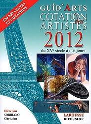 Dictionnaire cotation des artistes 2012