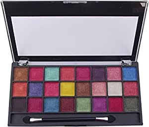 KASCN ORIGINAL MISS ROSE EYE SHADOW IN 24 COLOUR PROFESSIONAL MAKEUP BEAUTIFUL & CHARMING 10 G (01)