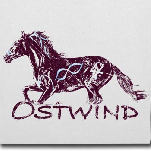 Spreadshirt OSTWIND Aufbruch Nach Ora Ostwind Im Galopp Stoffbeutel Weiß