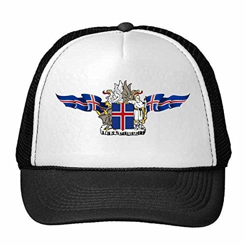 DIYthinker Norwegen National Emblem Land Symbol Mark Pattern Trucker-Mütze...