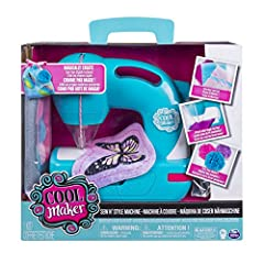 Idea Regalo - Cool Maker- Macchina da Cucire Sew 'N Style, Multicolore, 6037849