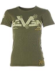 SEVEN 7 fOR aLL mankind ® t-shirt imprimé à manches courtes et col rond