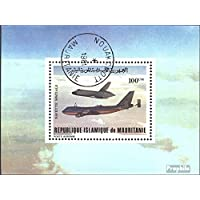 Mauritania block31 (complete.issue.) 1981 first Flights of Space Shuttle (Stamps for collectors) Space