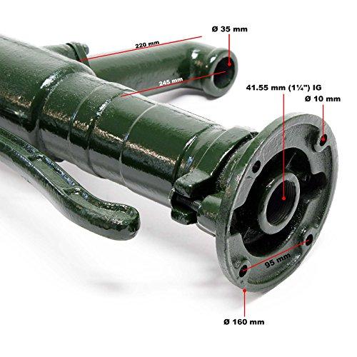 Wiltec Nostalgie Schwengel Pumpe - 3