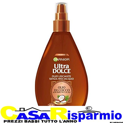 Ultra Dolce - aceite de coco alisador en Spray, 150 ml
