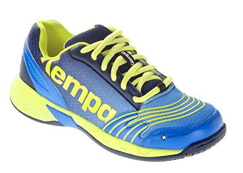 Kempa Handballschuhe Junior Kinder Turnschuhe blau (34)