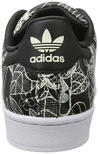 adidasSuperstar W - Pantofole Donna Nero (Cblack/cblack/spray)